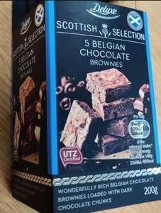 Deluxe Scottish Selection 5 Belgian Chocolate Brownies 200g £1.59 @ Lidl Maidenhead