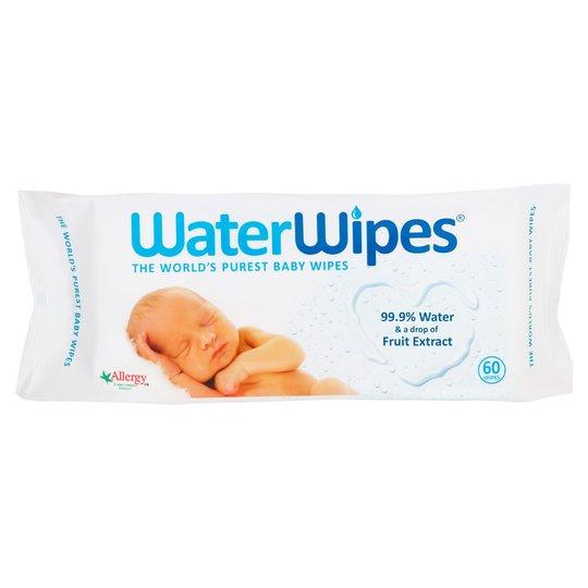 Waterwipes Sensitive Baby Wipes 60Pk £1.35 instore @ Tesco Stroud Green Road