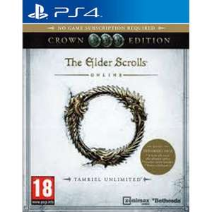 The Elder Scrolls Online Tamriel Unlimited : Crown Edition PS4 £2.95 delivered @ The Game Collection