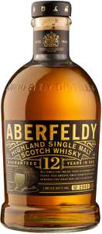 Aberfeldy 12 Year Old Single Malt Scotch Whisky, 70 cl - £25 @ Amazon