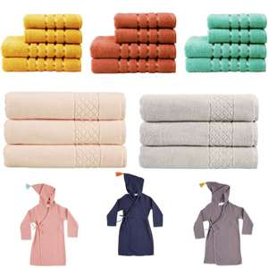 Selected Items Up to 50% + Extra 20% Discount & Free Delivery - Lifestyle Facecloth £1.20 / 100% cotton Serenity Towel £4.80 @ Christy