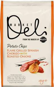 Walkers Deli Potato Chips 165g (3 flavours) 69p at Herons foods Hull