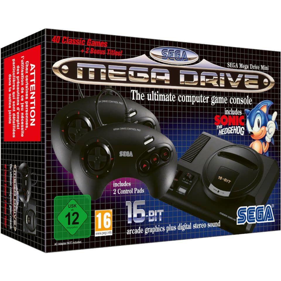 SEGA Mega Drive Mini Console for £61.48 With Code Delivered @ Zavvi