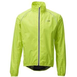 Ridge Unisex Fluoro Jacket - Yellow (other colours available in store) £10 @ Halfords - Free click and collect