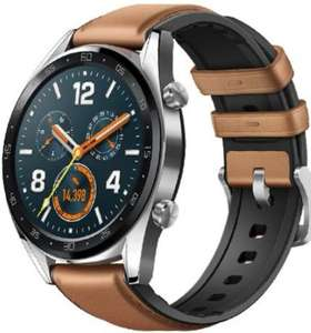 Huawei Watch GT FTN-B19 Stainless Steel with Saddle Brown Hybrid Strap - Steel £99.99 @ Eglobal Central