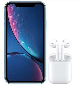 Virgin Media iPhone XR + AirPods deal  with £1GB of Data £28 per month for 36 Months (£1008) @ Virgin Mobile