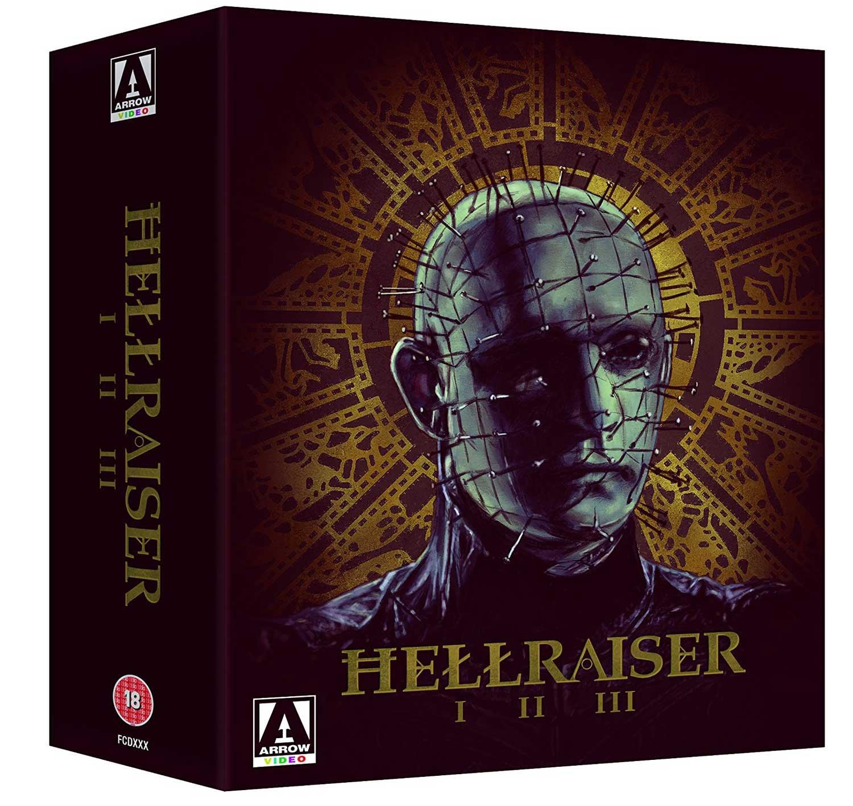 Hellraiser Trilogy (Box Set) [Blu-ray] £20.49 @ Amazon