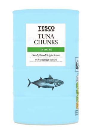 4 pack Tuna in Brine £1.95 found in Tesco Huddersfield in store only