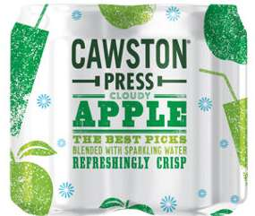 Cawston Press Cloudy Apple, Cans £2.50 at Asda (cash back available)