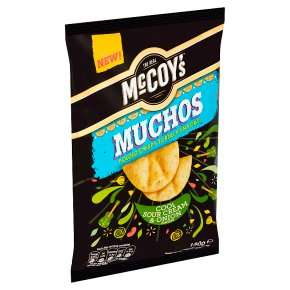 Waitrose-McCoy's Muchos Sour Cream & Onion/Smoky Chilli Chicken/Nacho Cheese 180g £1 at Waitrose & Partners