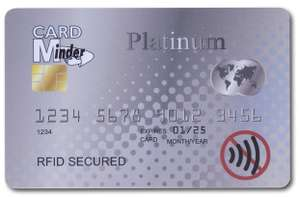 Card Minder RFID/NFC Blocking Card - Contactless Card Protection £3 + 99p delivery Non Prime Sold by EPOSGEAR & Fulfilled by Amazon.
