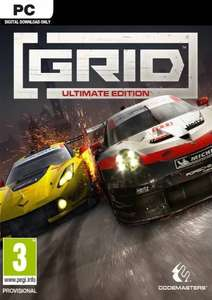 GRID Ultimate Edition PC £36.99 at CDKeys