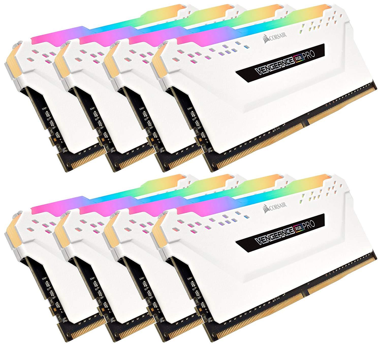 Corsair Vengeance RGB PRO 128 GB 2666 MHz (8 x 16 GB) £414.17 @ Amazon
