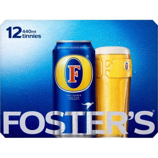 Fosters 12pk (440ml) £6.05 at Tesco Huntingdon