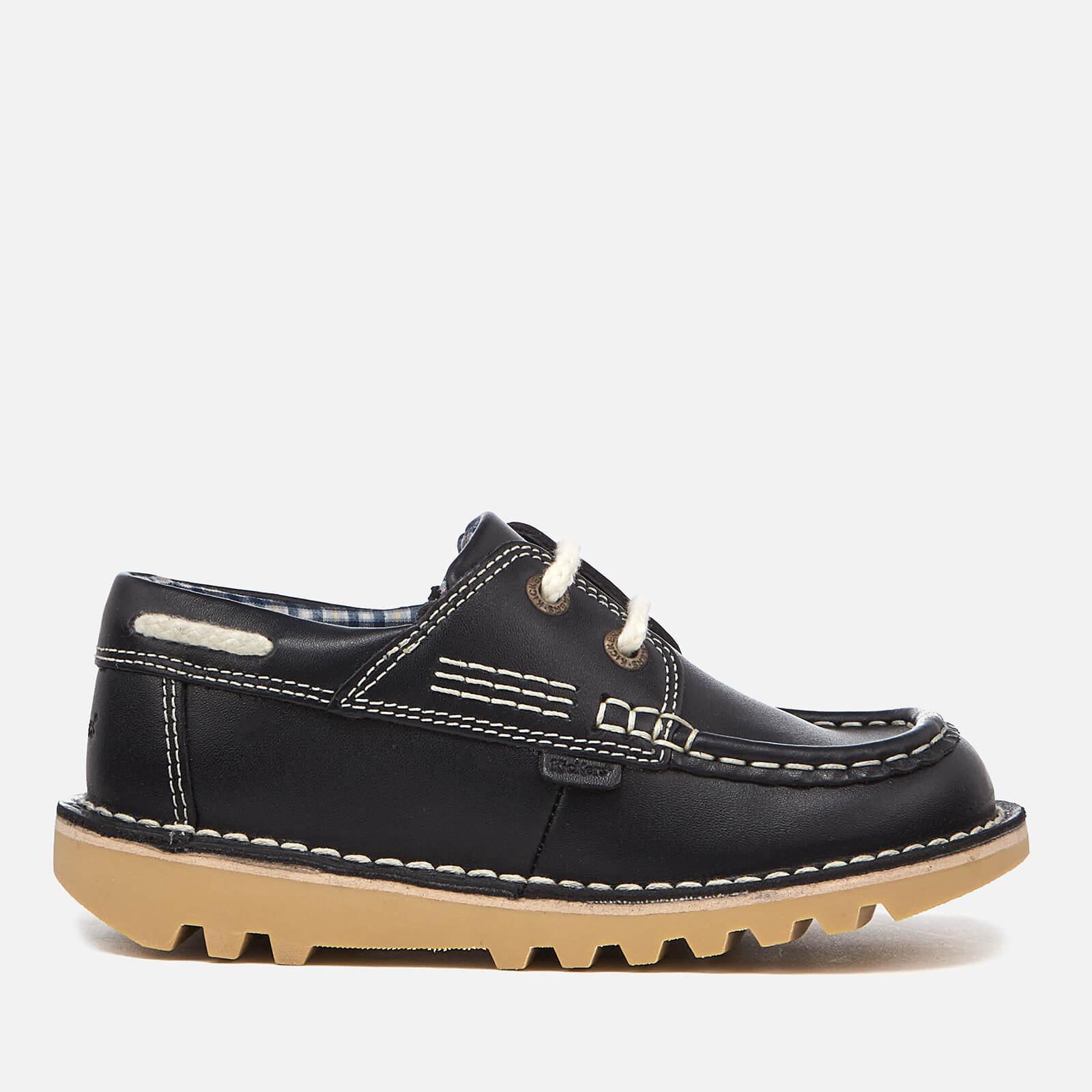 Kickers Kids' Kick Boatee Shoes - Navy £8.99 + £1.99 delivery at Zavvi