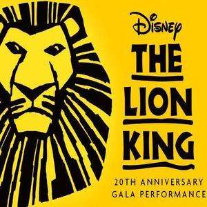 2000 Free Tickets for the Lion King at the Lyceum Theatre in London