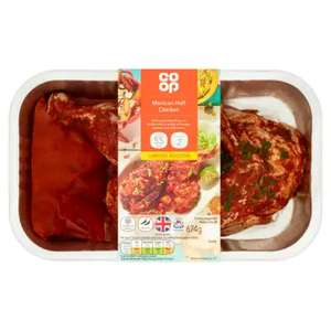 Coop mexican Inspired Half chicken - a third off £2.66