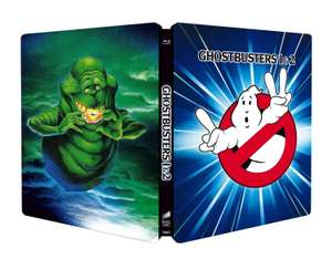 Ghostbusters 1 & 2 [Blu-ray Steelbook - 2 movie collection] - £14.69 delivered @ Amazon.it