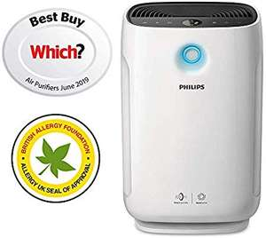 Philips AC2889/60 Series 2000i Connected Air Purifier with Real Time Air Quality Feedback, Anti-Allergen £269.99 @ Amazon