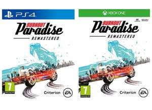 Burnout Paradise Remastered (PS4 / Xbox One) - £9.85 delivered @ ShopTo