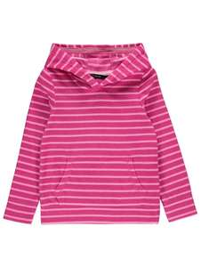 Better Than 1/2 Price : Pink Stripe Fleece Hoodie 7-10 years, Now £3 @ Asda (Free Click & Collect)