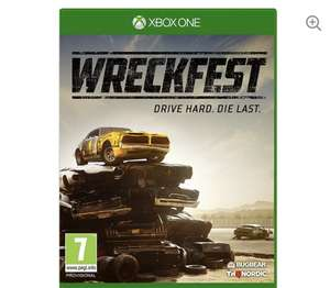 Wreckfest Xbox one £24.99 Currys