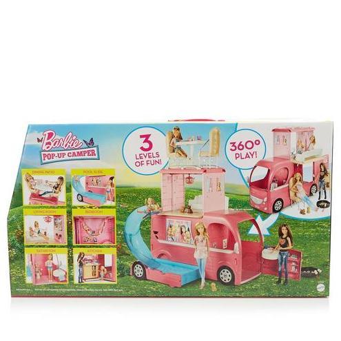 Barbie Pop-Up Dream Camper £40 Debenhams - Free Click & Collect