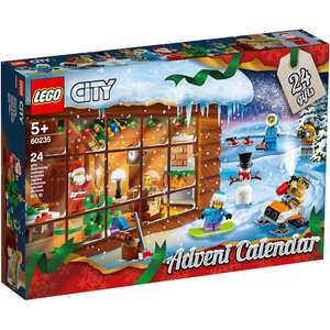 Lego City 60235 Advent Calendar £16 John Lewis & Partners + £2 Click & collect / £3.50 delivery