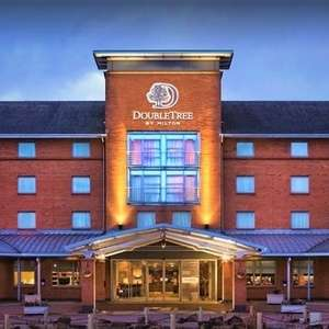 4* Doubletree by Hilton Strathclyde: 1 Nights Stay + 2 Course Meal, Breakfast and Leisure Access £52 @ Groupon (Using code)