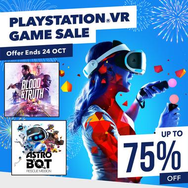 PlayStation PSVR Sale at PSN Store Indonesia - Batman Arkham £5.95 Thumper £3.72 Wolfenstein Cyber Pilot £7.58 Justice League £3.71 + MORE