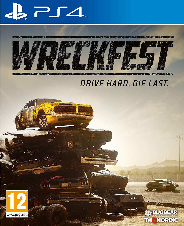 Wreckfest PS4 £24.99 Amazon