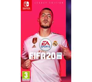 Fifa 20 for Nintendo Switch £36.99 online & In store @ Currys PC World