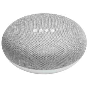Google Home Mini Smart Speaker - Chalk/Charcoal £25.99 Delivered / 2 for £50 @ MyMemory
