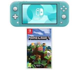 Nintendo Switch Lite & Minecraft Bundles - (Turquoise / Yellow / Grey) + FREE 6 Months Spotify Premium for £199 delivered @ Currys
