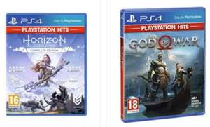 PlayStation Hits - Two for £25 e.g. God of War & Horizon Zero Dawn for £25 Delivered @ Base