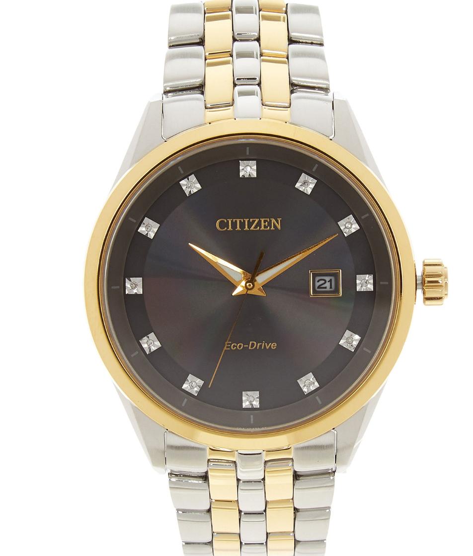 Citizen BM7344-54E Corso Two Tone Eco-Drive Diamond Bracelet Watch £99.99 delivered at TK Maxx