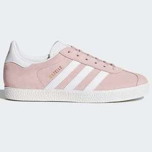 Adidas gazelle junior icy pink 3-5.5 £23.32 delivered with code Adidas Shop