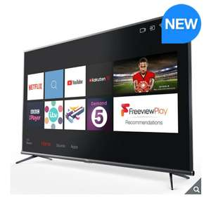 TCL 50EP648 50 Inch 4K Ultra HD HDR PRO with Freeview Play and Smart TV 3.0 - 5 Year Warranty £299.89 @ Costco