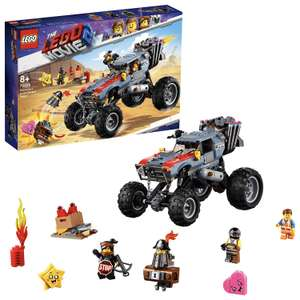 LEGO Movie 2 70829 Emmet and Lucy's Escape Buggy - £28.59 @ Amazon