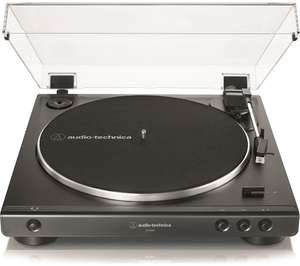 AUDIO TECHNICA AT-LP60X Belt Drive Turntable - Black - £79 @ Currys PC World
