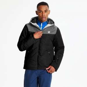 Dare2b Men's Domain Quilted Waterproof and Breathable Ski Jacket now £65.99 + Free Delivery @ Dare2b