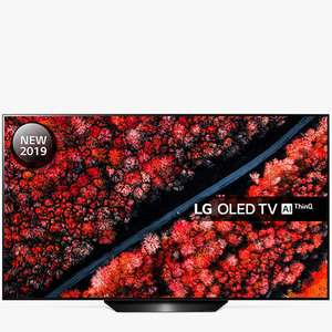 "LG OLED55B9PLA (2019) OLED HDR 4K Ultra HD Smart TV, 55""+ £100 / £125 E - Gift card + Free 5 Year Warranty @ John Lewis & Partners"