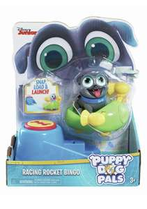Disney Junior Puppy dog pals Figures on the go - Bingo - £4 @ Argos eBay