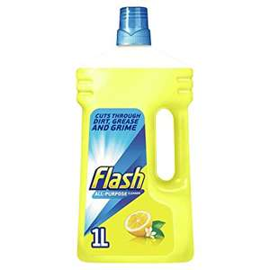 Lemon Flash All Purpose cleaner 1 litre - 2 for £2 @ Co-op Cannock
