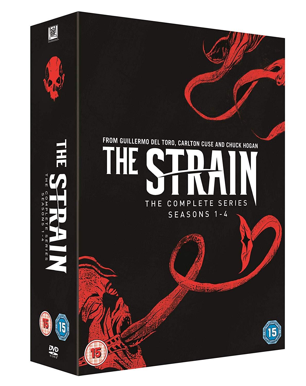 The Strain Complete Series, Seasons 1-4 boxset DVD - £21.20 @ Amazon