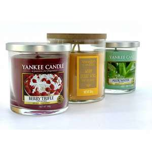 3 For All Moods Pillar Candles £11.40 Delivered with code at Yankee Bundles
