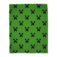 Minecraft Emerald Flannel Fleece £5.95 + Free Click and Collect @ Asda George