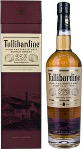 Tullibardine 228 Burgundy Finish Highland Single Malt Scotch Whisky, 70cl - £37 Amazon