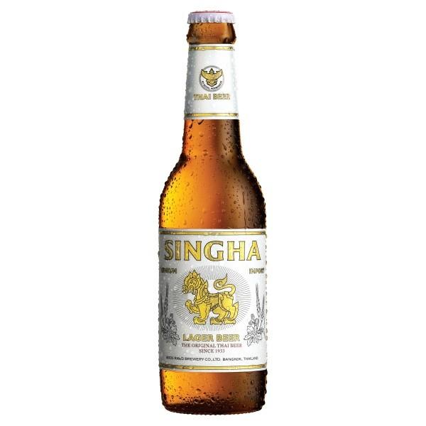 Singha Thai beer 330ml at B&M 69p a bottle