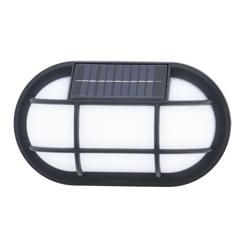 Norton Black Solar LED Wall LightSKU: 494249 - £5 @ Homebase